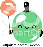 04/27/2021 - Cute Gooseberry Holding A Balloon