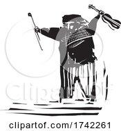 Gypsy Style Man With A Violin