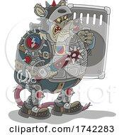 Poster, Art Print Of Armoured Rat