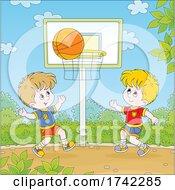 04/28/2021 - Boys Playing Basketball