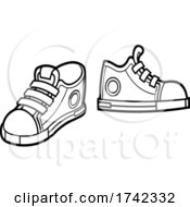 04/29/2021 - Black And White Sneakers