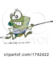 Cartoon Frog Jumper