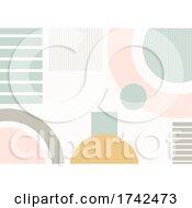Trendy Abstract Minimalist Background Design