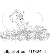 05/05/2021 - Girl Watering Flowers