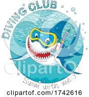 Diving Club Shark by Alex Bannykh #COLLC1742616-0056