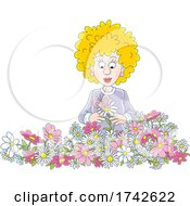 05/06/2021 - Woman With Flowers