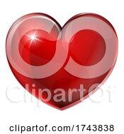 Heart Shaped Cartoon Emoji Emoticon Icon