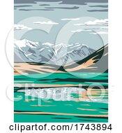 Brooks Range From Near Galbraith Lake Located In The North Slope Borough Of Alaska United States Wpa Poster Art by patrimonio