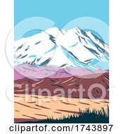Denali National Park And Preserve Formerly Known As Mount McKinley National Park Located In Interior Alaska WPA Poster Art by patrimonio