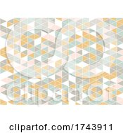 Abstract Low Poly Scandinavian Style Pattern Background