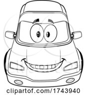 Black And White Smiling Car