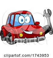 Car Holding A Wrench