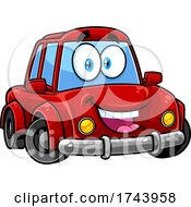 Happy Car Mascot by Hit Toon #COLLC1743958-0037