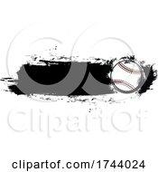 Baseball With Grunge