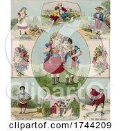 Poster, Art Print Of Children In Different Scenes