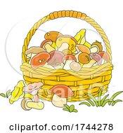 05/21/2021 - Basket Of Mushrooms