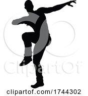Poster, Art Print Of Street Dance Dancer Silhouette