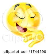 Poster, Art Print Of Proud Pleased Emoticon Emoji Face Cartoon Icon