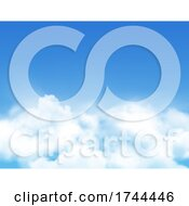 Poster, Art Print Of Blue Sky And Clouds