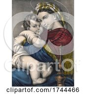 The Virgin And Child Madonna And Child Or Mary And Child