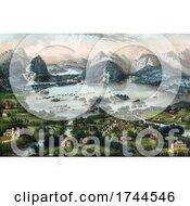 05/24/2021 - Historical Scene Of The Lakes Of Killarney County Kerry Ireland