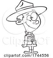Cartoon Mountie Boy