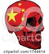 Chinese Flag Skull