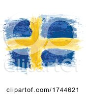 05/28/2021 - Painted Swedish Flag