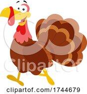 Poster, Art Print Of Happy Turkey Bird