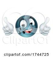 Bowling Ball Emoticon Face Emoji Cartoon Icon
