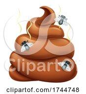 Poster, Art Print Of Poop Poo Emoticon Poomoji Emoji Cartoon Icon