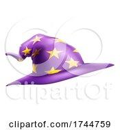 Wizard Or Witch Hat Emoticon Emoji Cartoon Icon