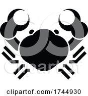 Crab Sign Label Icon Concept