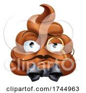 Poster, Art Print Of Arrogant Posh Snooty Poop Poo Emoticon Emoji Icon