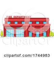 Poster, Art Print Of Fire Station