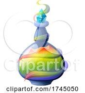 Colorful Potion Bottle