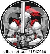 Poster, Art Print Of Knight Logo