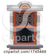 Poster, Art Print Of Chinese Temple Window