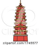 Poster, Art Print Of Pagoda