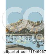 06/10/2021 - Barker Dam Within The Wonderland Of Rocks In Joshua Tree National Park Located In California WPA Poster Art
