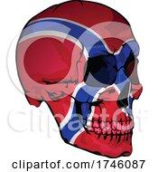 Norway Flag Skull