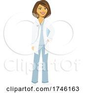 Happy Pharmacist Or Doctor by Amanda Kate