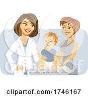 Poster, Art Print Of Happy Pediatrician And Patient