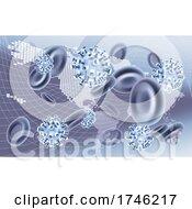 Poster, Art Print Of Global Pandemic Virus Map Concept