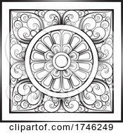 Sinhala Traditional Art Black And White