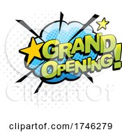 Comic Pop Art Styled Grand Opening Business Design