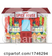 Poster, Art Print Of Spice House Business Facade