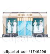 Poster, Art Print Of Bridal Salon Business Facade