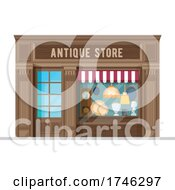 Poster, Art Print Of Antique Store Business Facade