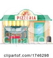Poster, Art Print Of Pizzeria Business Facade